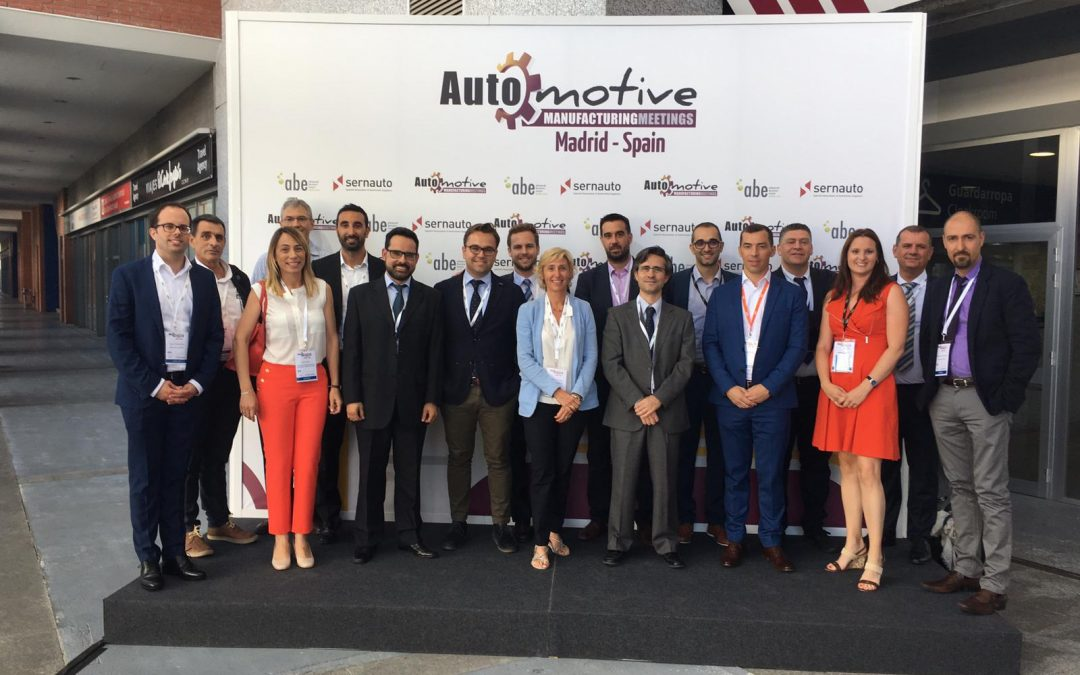 Los asociados de AVIA se vuelcan con Automotive Meeting Madrid